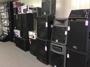 peavey, presonus, amplifier, mixer, pa, lighting, powered, non powered, speaker, amp, equalizer