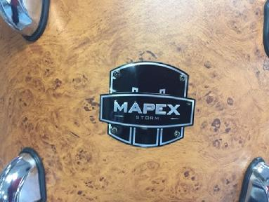Mapex drum company, drum set, rebel, storm, armory, mydentity